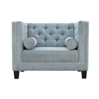 Pikowany fotel Amelia