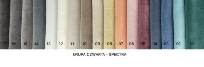 wzornik tkanin spectra