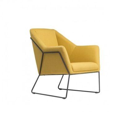 Fotele Fotel Antonio żółty