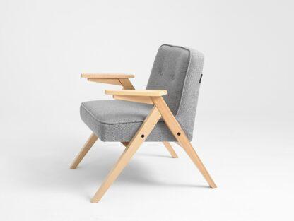 Fotele Fotel Maite na drewnianych nogach