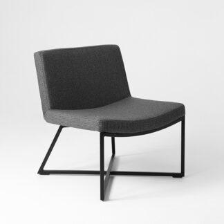 Krzesła Krzesło Alano na metalowej podstawie