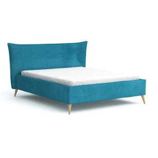 Łóżka Łóżko Canella na wysokich nogach