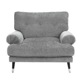 Fotele Fotel Amelia z pikowanym oparciem
