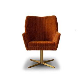Fotele Fotel Lilje na metalowej nodze