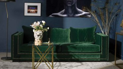 Nordic Line Sofa Washington na drewnianych nogach