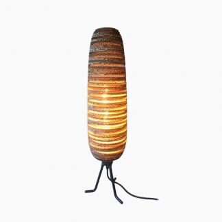 Lampy stołowe Lampa stołowa z tektury Antonella