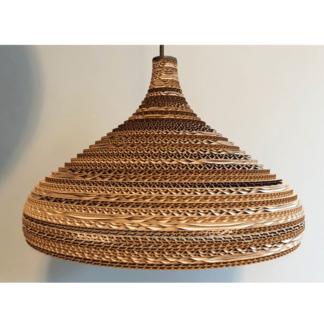 Lampy wiszące Lampa wisząca tekturowa Cone