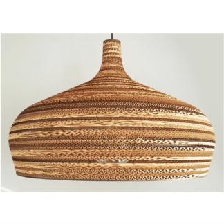 Lampy wiszące Lampa wisząca tekturowa Dome