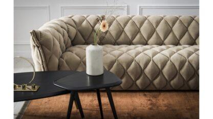 Nordic Line Sofa Goldy z przeszyciami