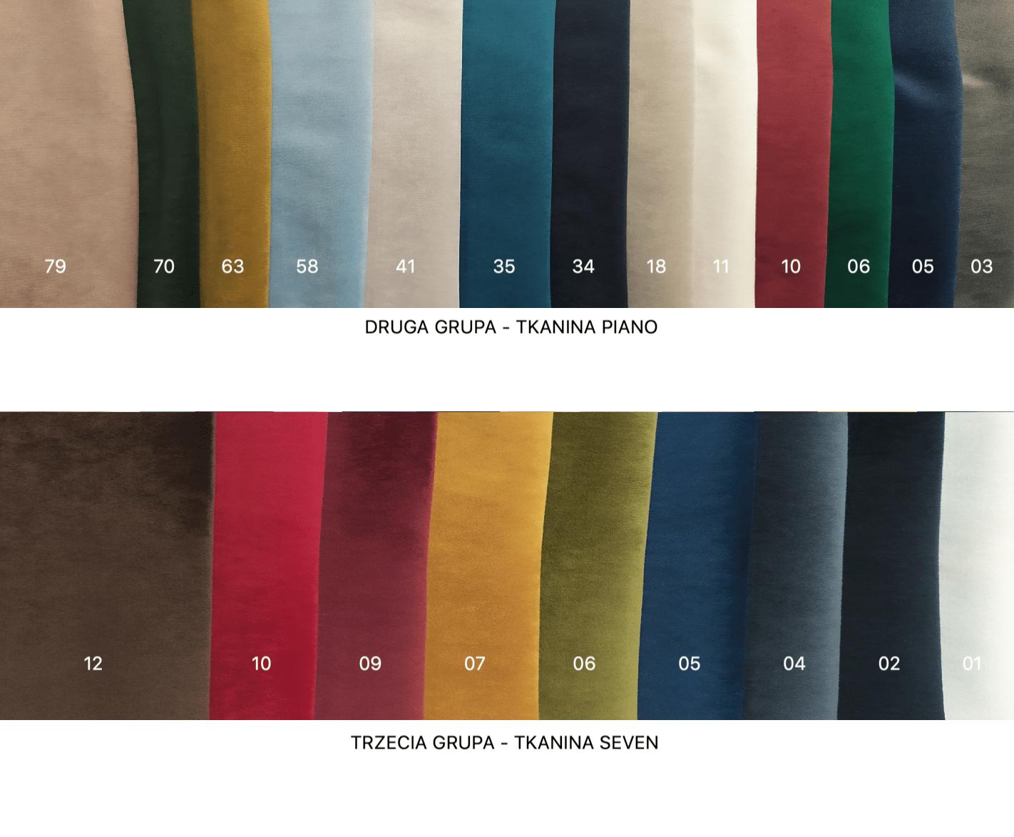 wzornik tkanin nordic line
