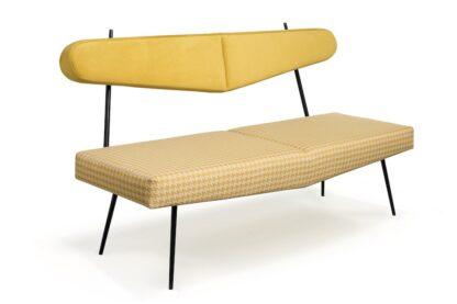 sofa bayardo na nóżkach z metalu