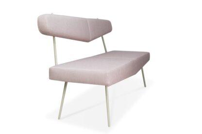 sofy na metalowych nóżkach - sofa bayardo