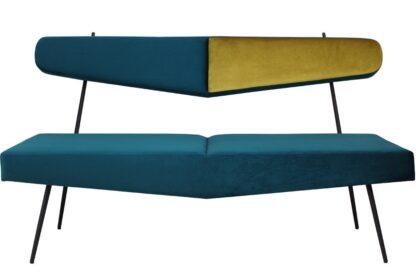 sofa bayardo na metalowych nogach