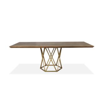 Stoły Stół jadalniany Amancio na okrągłej podstawie
