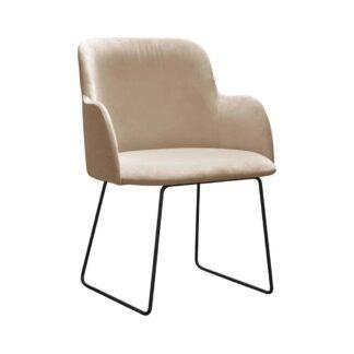 Fotele Fotel Chus na metalowych nogach