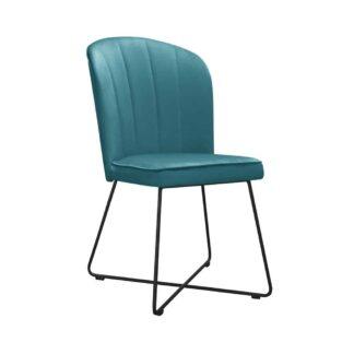 Krzesła Krzesło Efrain na metalowych nogach