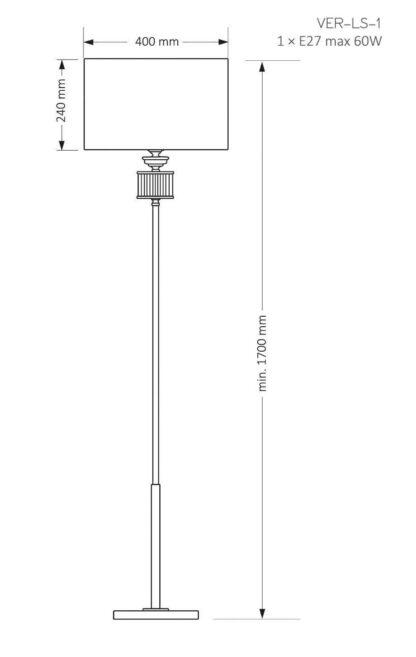 Kutek Mood Lampa stojąca VER-LS-1