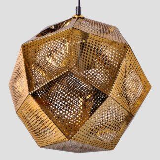 Lampy wiszące Lampa wisząca złota Josefina