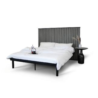 Łóżka Łóżko metalowe Bermudo