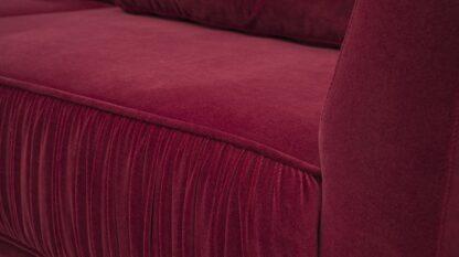 sofa contino z marszczeniami