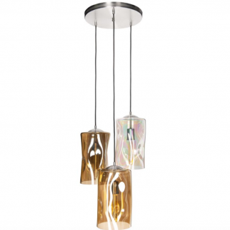 lampa wiszaca ze szklanym kloszem