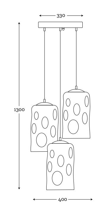 wymiary lampy
